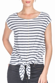 Lilla P Tie Front Top - Product Mini Image