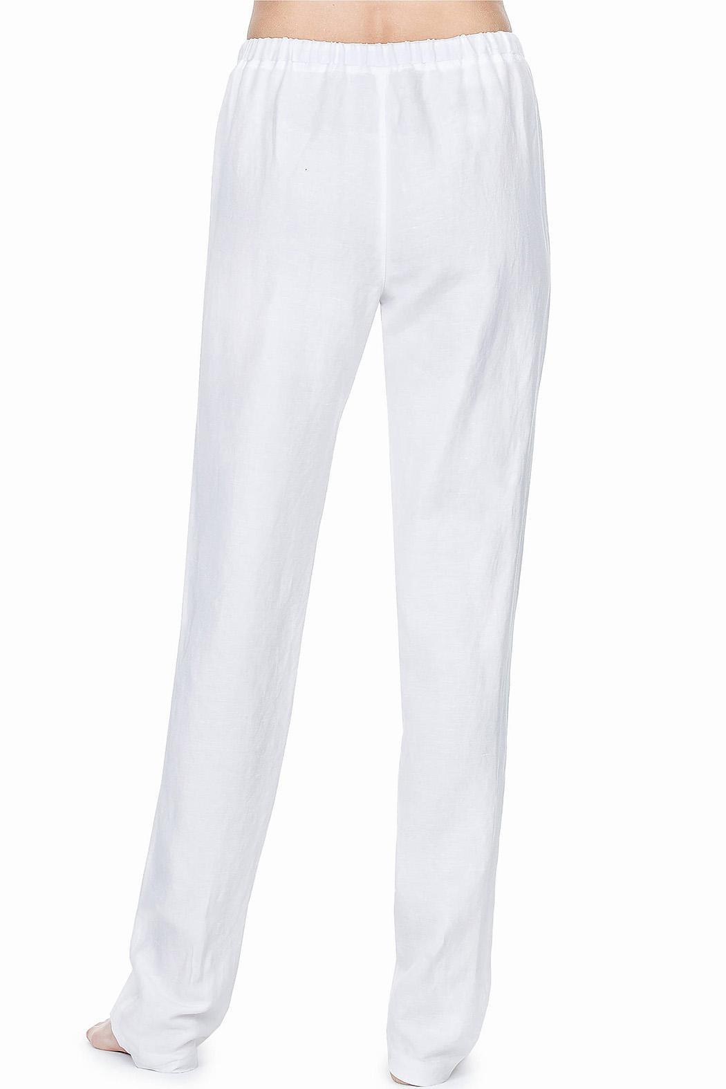 Lilla P White Drawstring Pants from Charleston by Embroidery ...