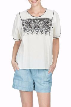 Shoptiques Product: Woven Embroidered Top
