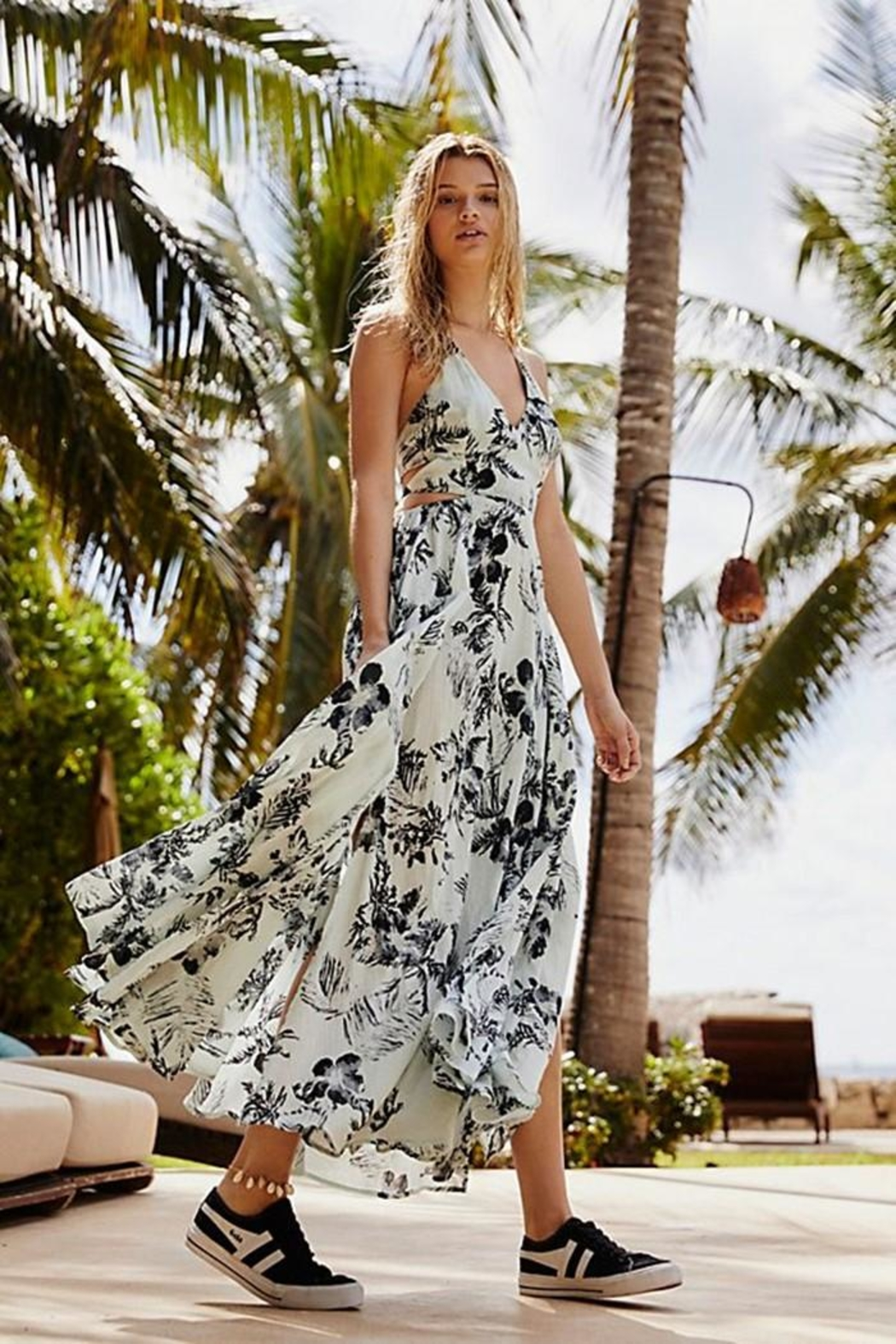 Free People Lille Printed Maxi - Main Image