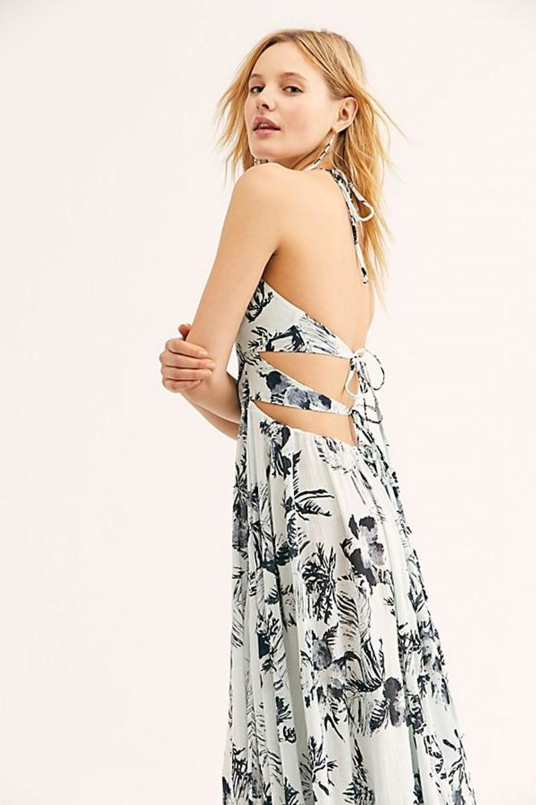 Free People Lille Printed Maxi - Back Cropped Image