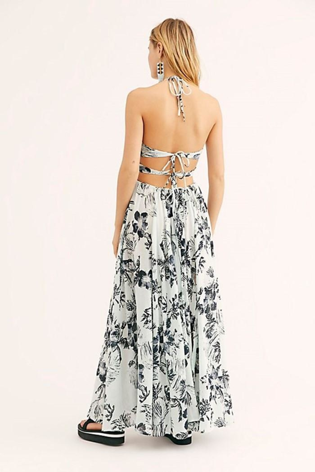 Free People Lille Printed Maxi - Side Cropped Image