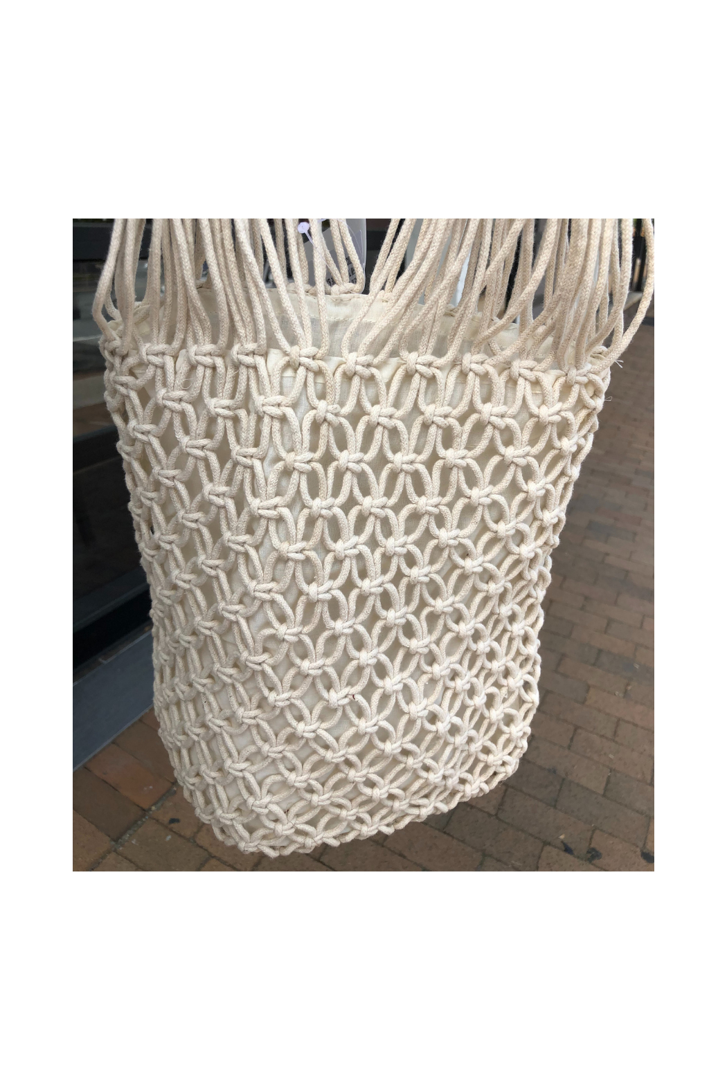 Virginia Wolf Lilli Macrame Bag - Front Cropped Image