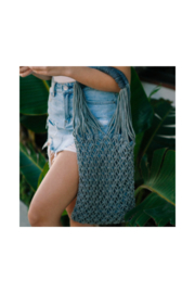 Virginia Wolf Lilli Macrame Bag - Front cropped
