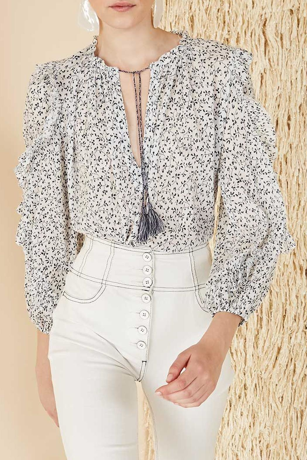 Ulla Johnson Lillian Blouse - Front Cropped Image