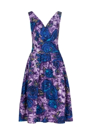 Emily & Fin Lillian Purple Floral - Front cropped
