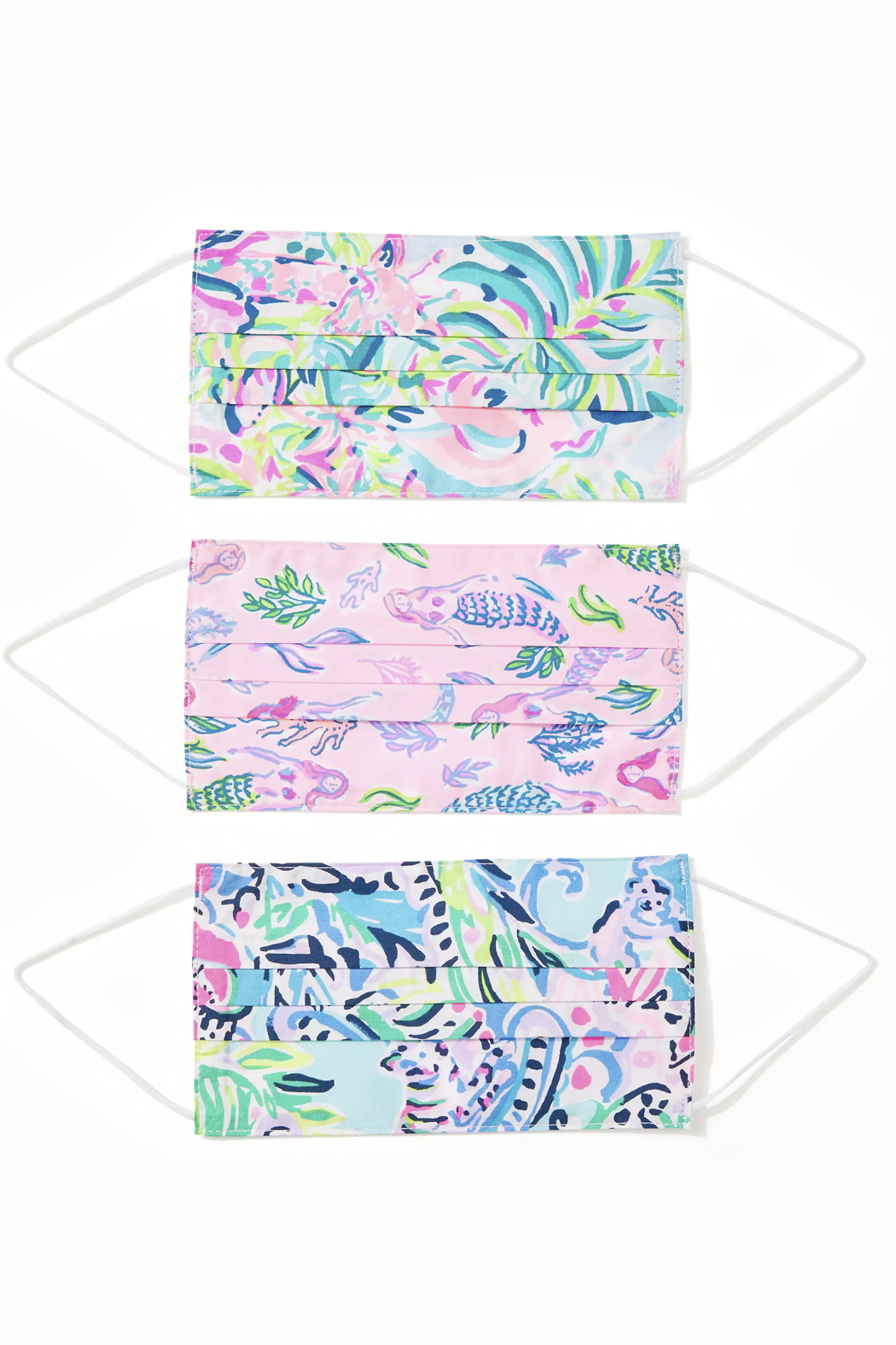 Lilly Pulitzer  Lilly Adult Face Masks - Front Cropped Image