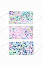 Lilly Pulitzer  Lilly Adult Face Masks - Front cropped