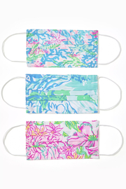Lilly Pulitzer  Lilly Adult Face Masks - Product Mini Image