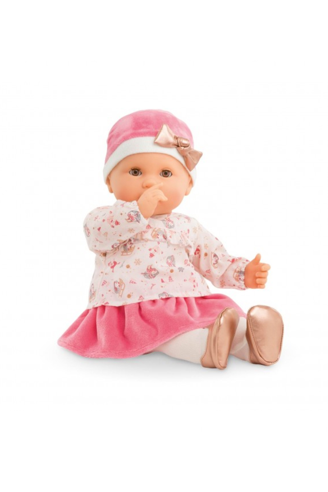 Corolle Lilly Enchanted Winter Baby Doll - Front Full Image