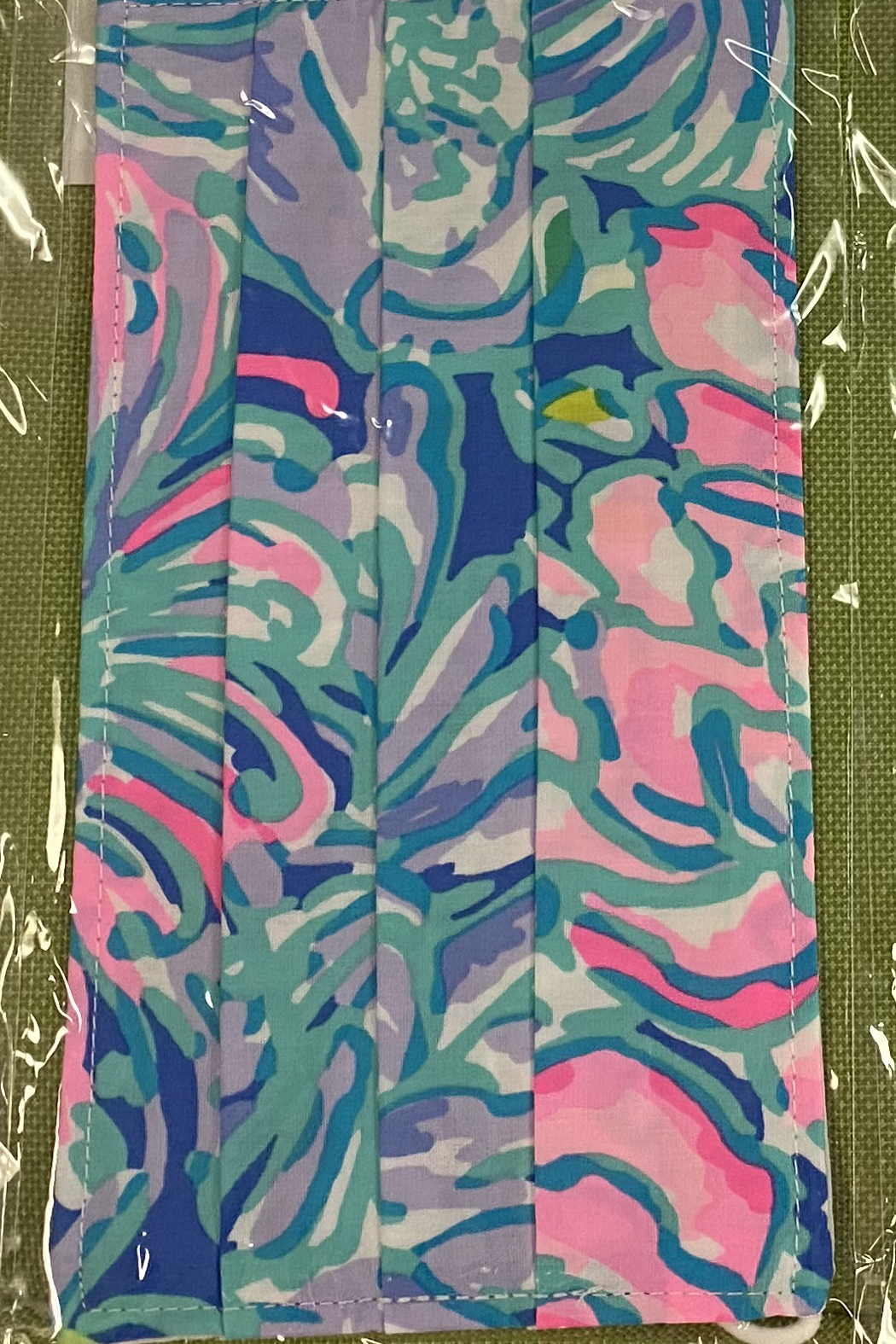 Lilly Pulitzer Lilly Non-Medical Face Mask - Front Cropped Image