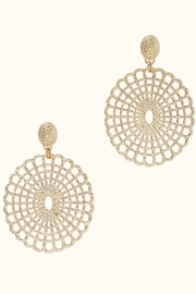 Lilly Pulitzer Lilly Lace Earrings - Front cropped