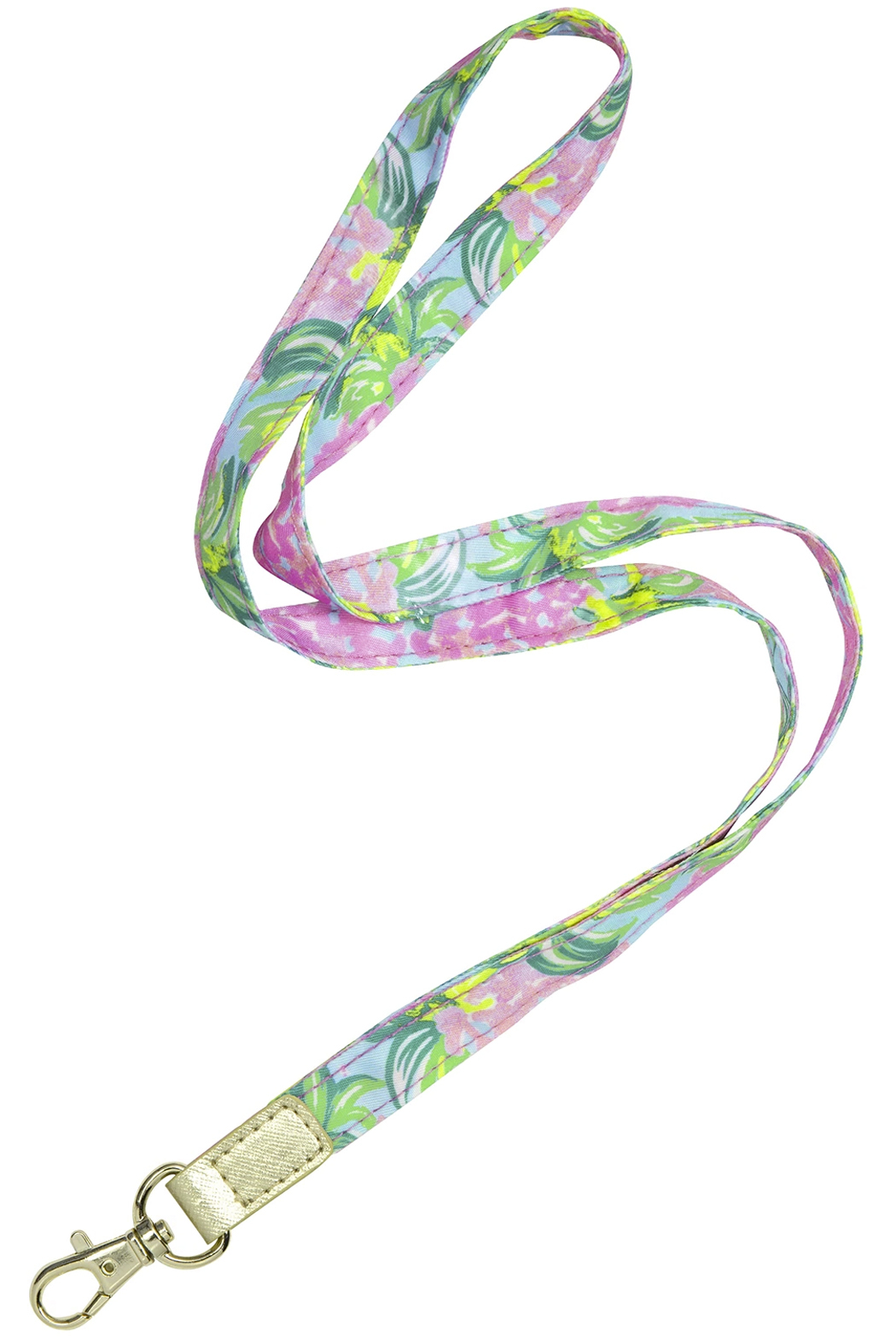 Lilly Pulitzer Lilly Lanyard - Front Cropped Image