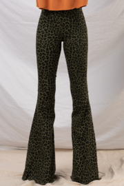 Trend Notes  Lilly Leopard Bell Bottoms - Product Mini Image