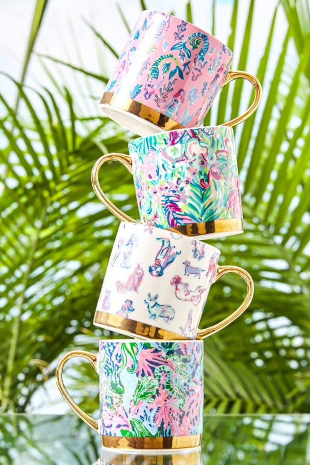 Lilly Pulitzer  Lilly Mug - Front Cropped Image