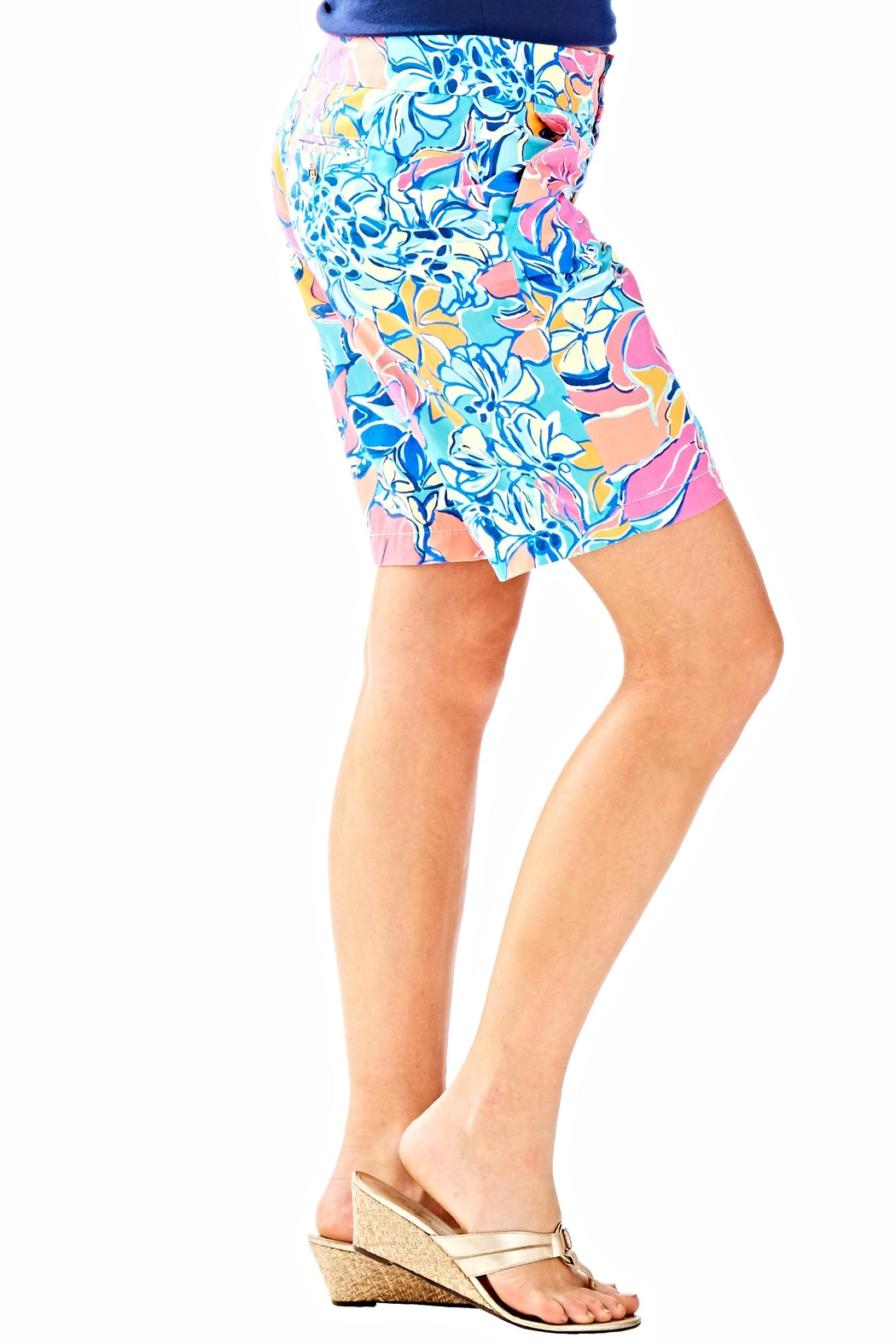 Lilly Pulitzer Chipper Shorts - Side Cropped Image