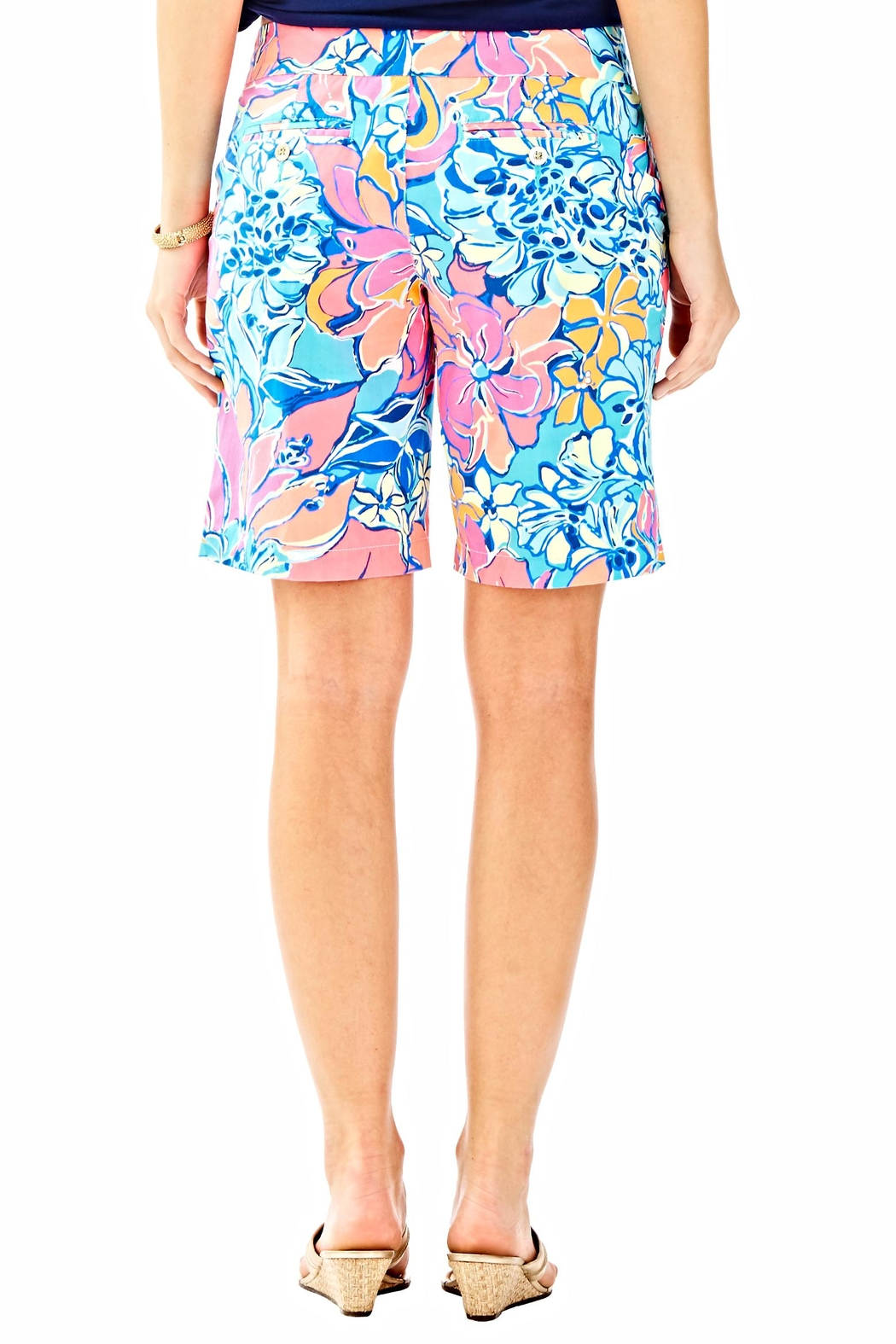 Lilly Pulitzer Chipper Shorts - Front Full Image