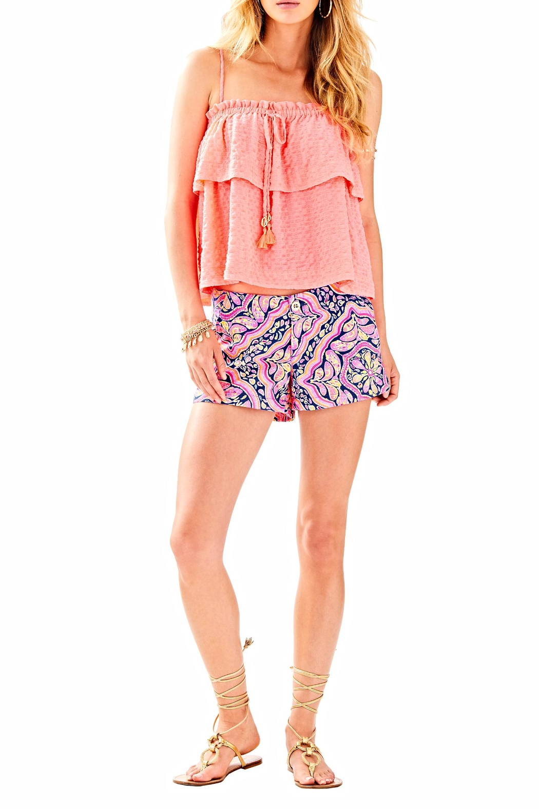 Lilly Pulitzer Kerrie Short - Back Cropped Image