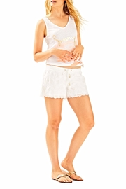 Lilly Pulitzer White Bay breeze short - Back cropped