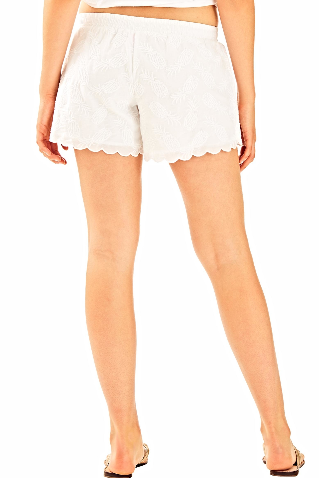 Lilly Pulitzer White Bay breeze short - Front Full Image