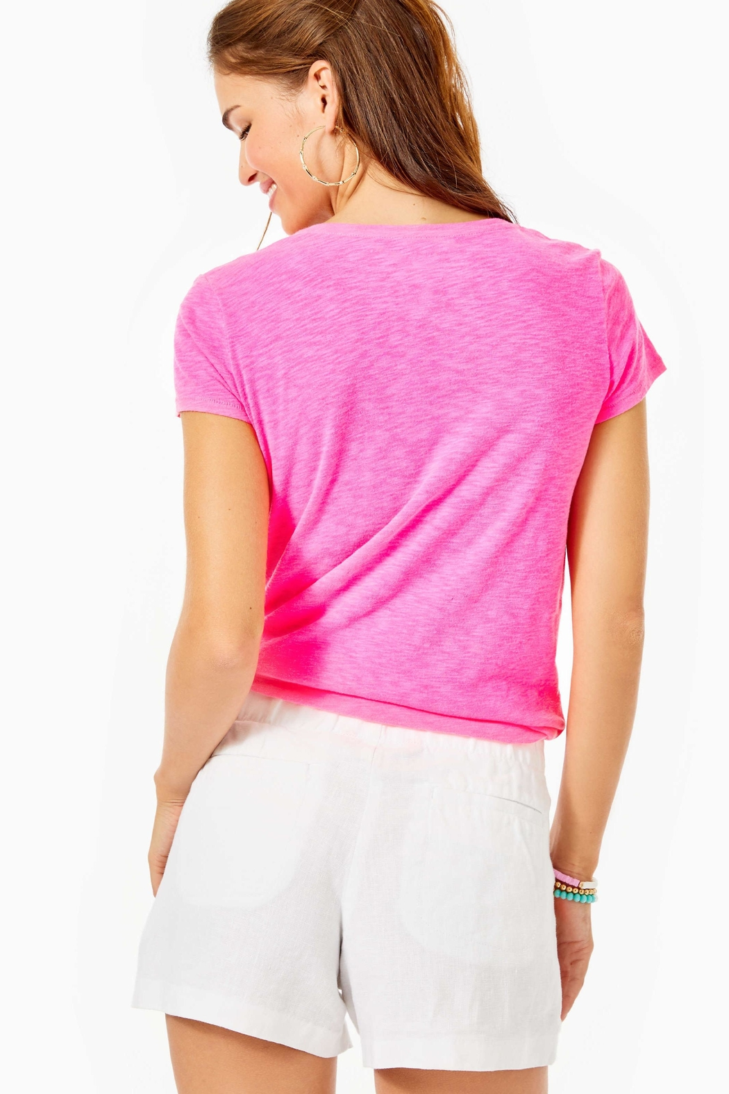 Lilly Pulitzer Lilo Shorts - Front Full Image