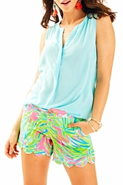 Lilly Pulitzer Scallop Shorts - Product Mini Image