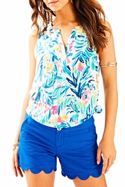 Lilly Pulitzer Blue Lali Short - Product Mini Image