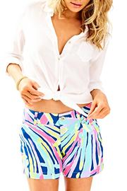 Lilly Pulitzer Callahan Printed Shorts - Product Mini Image