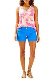 Lilly Pulitzer Blue Mini Short - Product Mini Image