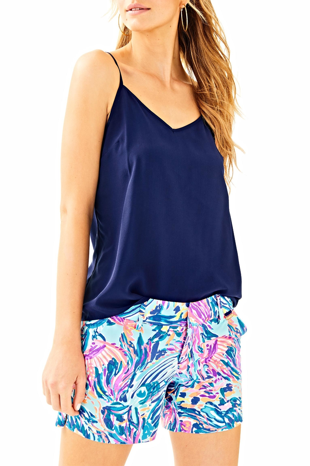 Lilly Pulitzer Callan Short - Back Cropped Image