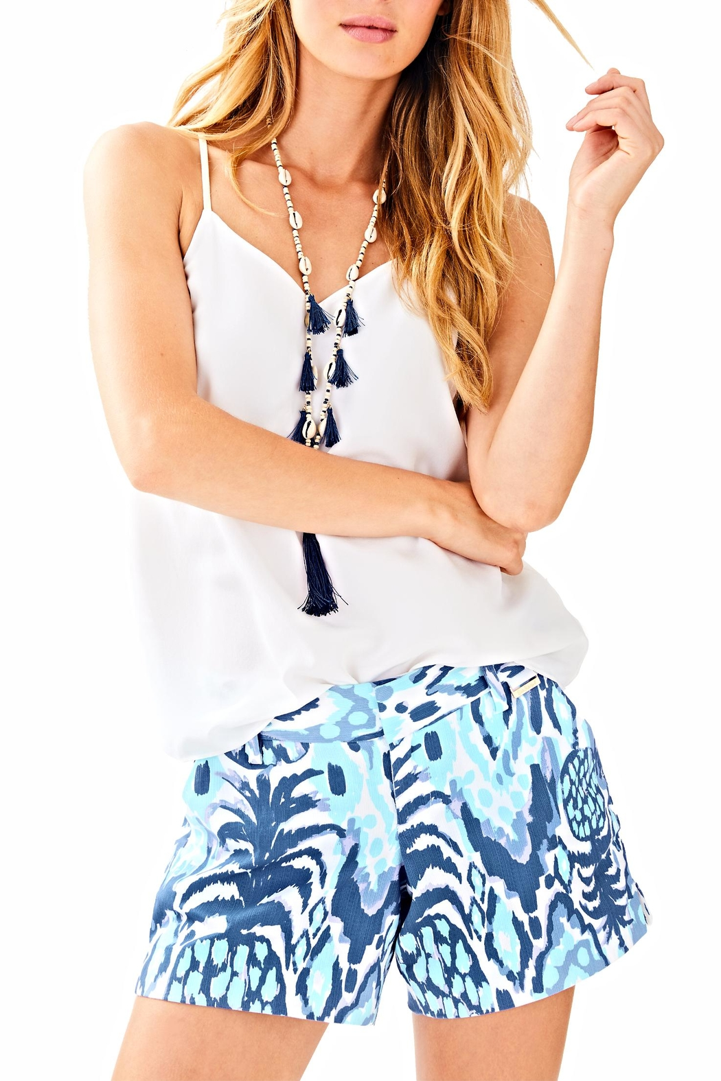 Lilly Pulitzer Callan Short - Front Cropped Image