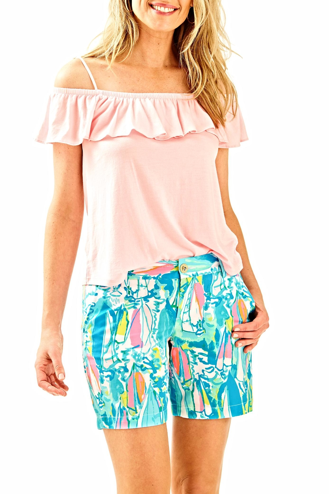 Lilly Pulitzer Jayne Shorts - Main Image