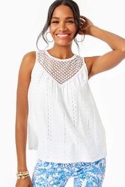 Lilly Pulitzer Aberdeen Top - Front cropped