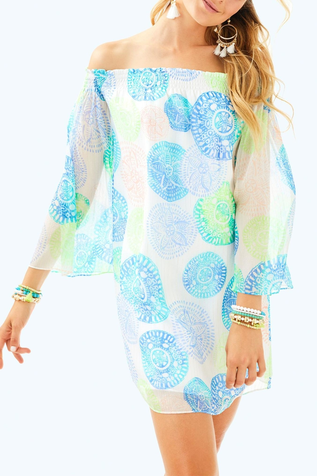 Lilly Pulitzer Abi Silk Dress - Main Image