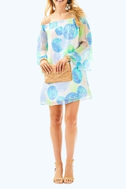 Lilly Pulitzer Abi Silk Dress - Back cropped