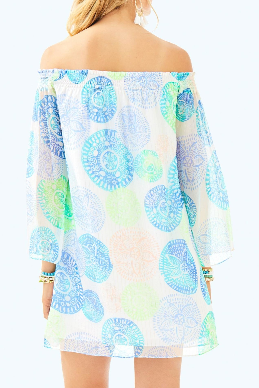 Lilly Pulitzer Abi Silk Dress - Front Full Image