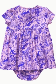 Lilly Pulitzer Abigail Infant Dress - Front full body
