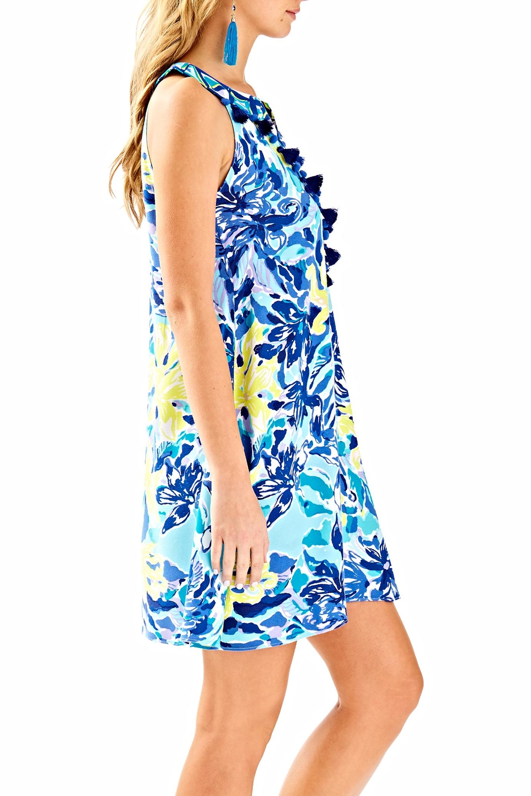 Lilly Pulitzer Achelle Swing Dress - Side Cropped Image