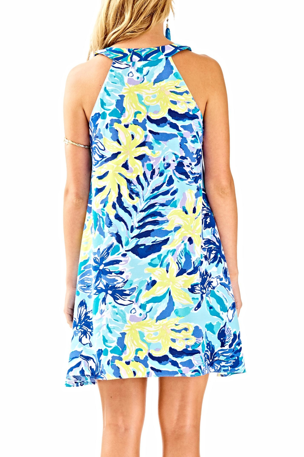 Lilly Pulitzer Achelle Swing Dress - Front Full Image