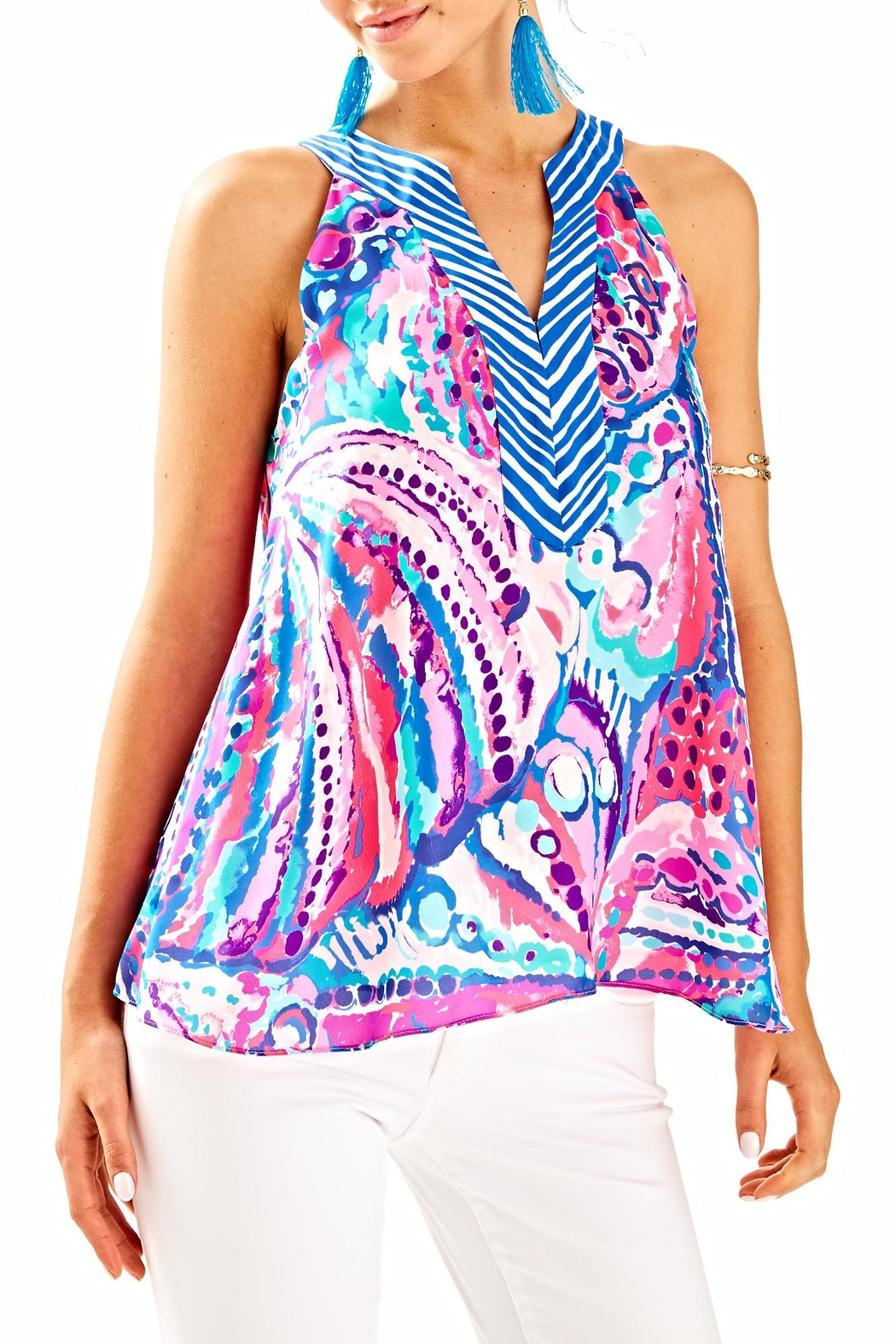 Lilly Pulitzer Achelle Top - Main Image