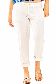 Lilly Pulitzer Aden White Pant - Product Mini Image