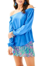 Lilly Pulitzer Adira Silk Top - Product Mini Image