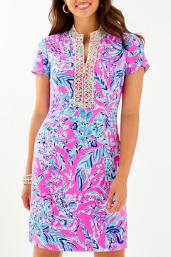 Lilly Pulitzer Adrena Stretch-Shift Dress - Product List Image