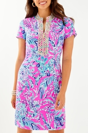 Lilly Pulitzer Adrena Stretch-Shift Dress - Front cropped