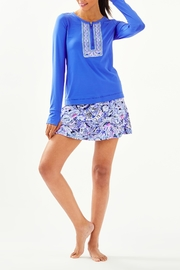 Lilly Pulitzer Luxletic Aila Skort - Back cropped