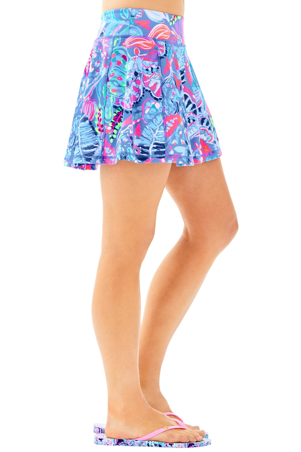 Lilly Pulitzer Aila Skort - Side Cropped Image