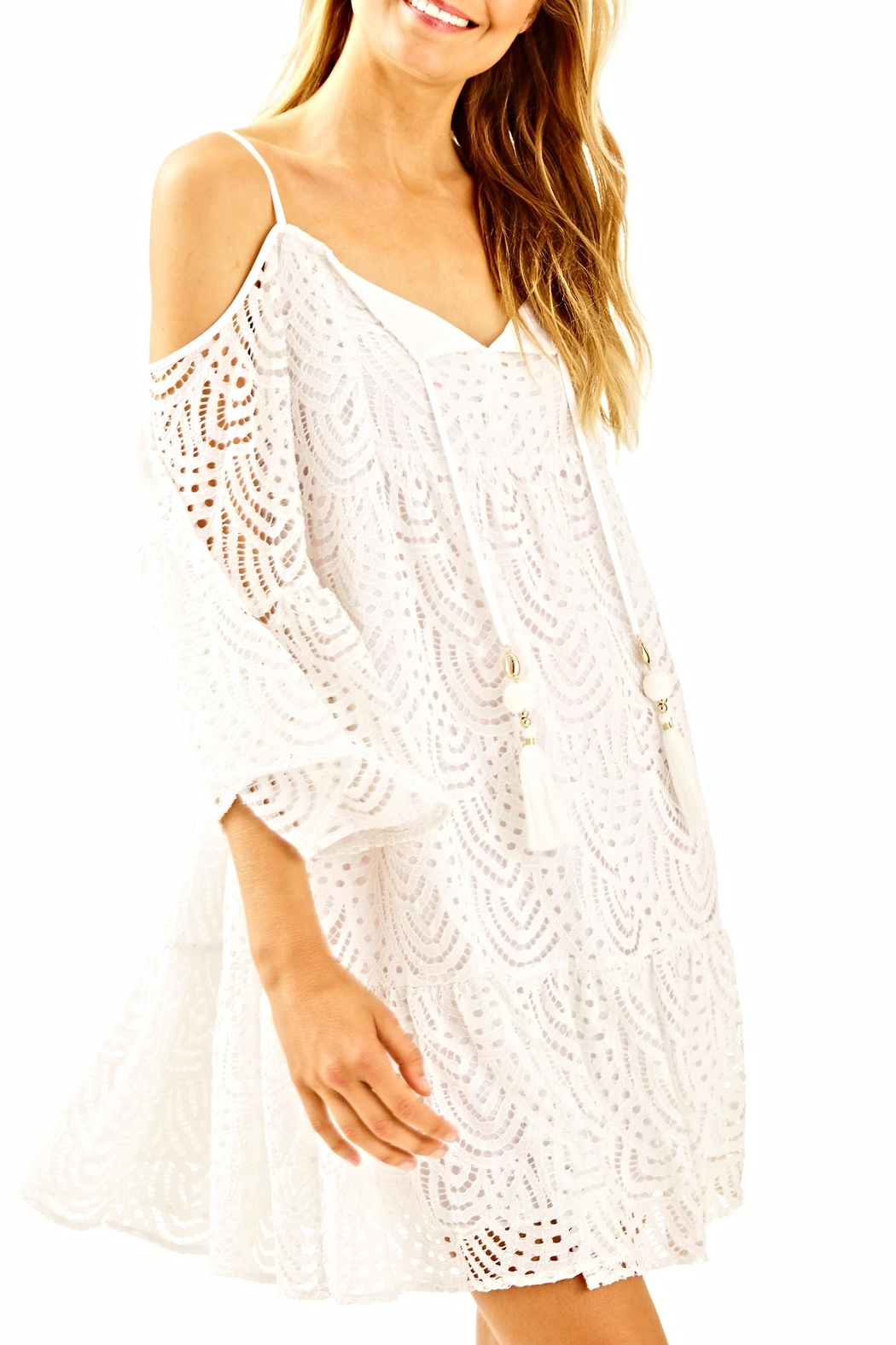 Lilly Pulitzer Alanna White Dress from Sandestin Golf and ...