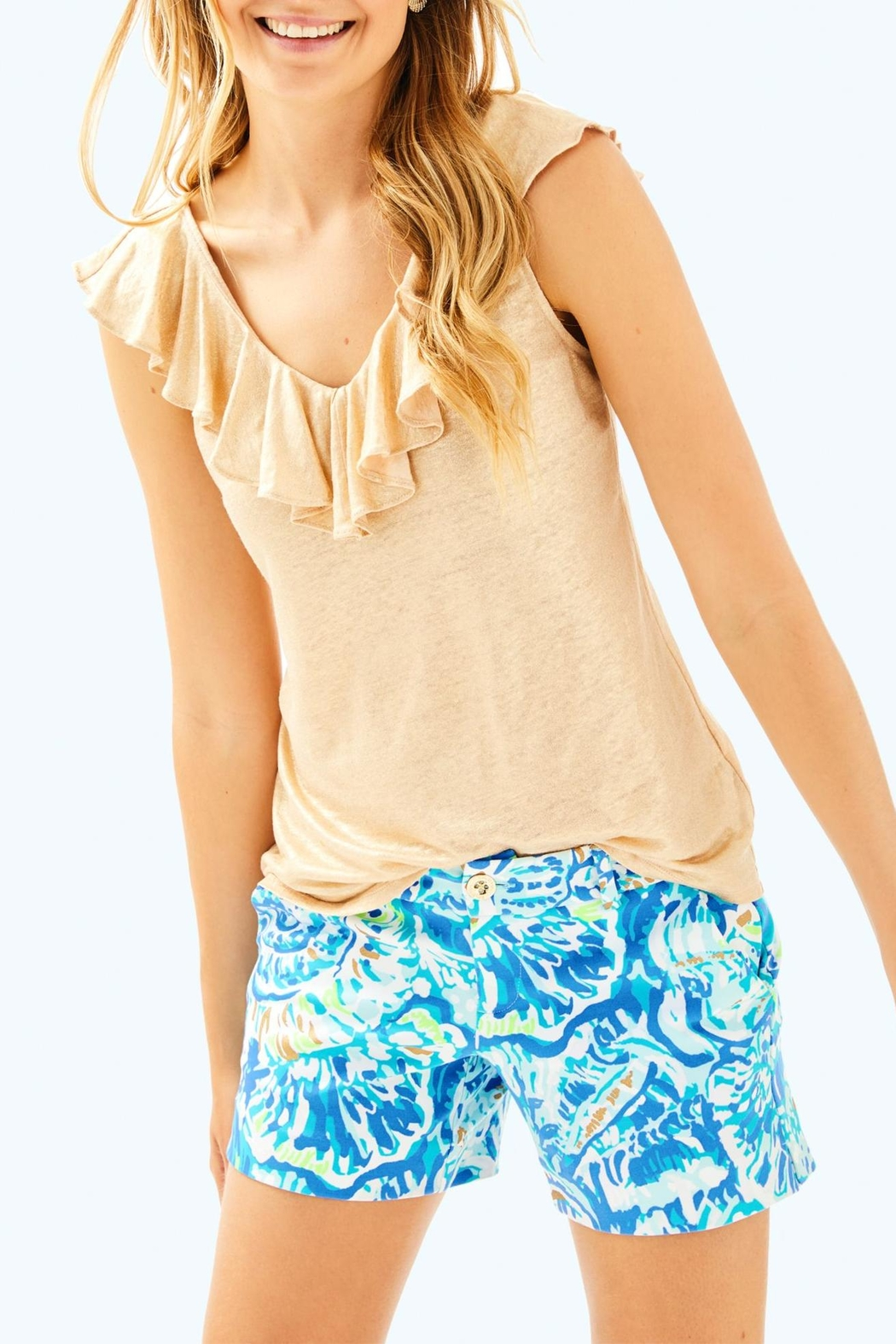 Lilly Pulitzer Alessa Top - Main Image