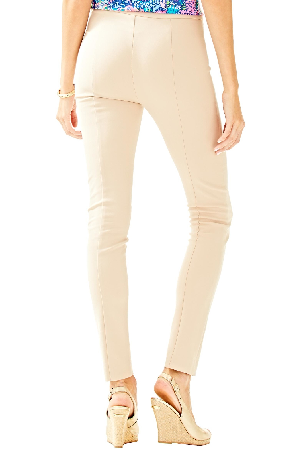 Lilly Pulitzer Alessia Stretch Pant - Front Full Image