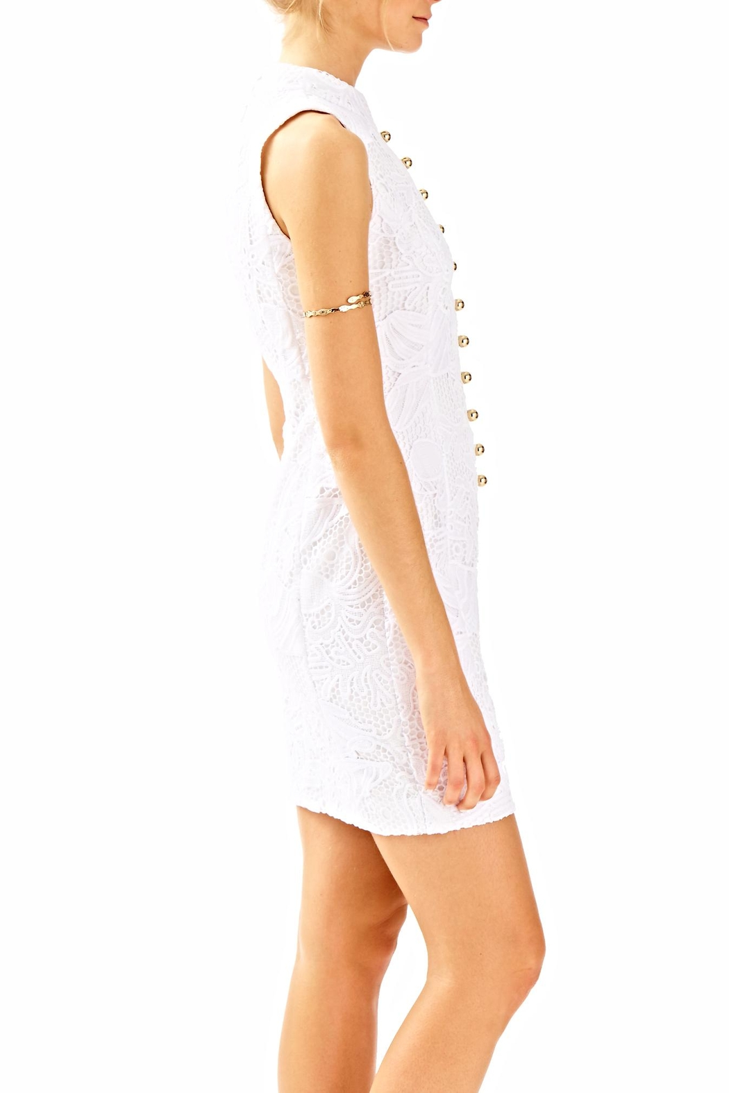 Lilly Pulitzer Alexa Shift Dress - Side Cropped Image